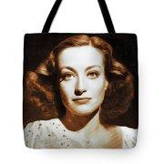 Joan Crawford, Hollywood Legends Tote Bag