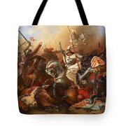 Joan Of Arc In The Battle Tote Bag