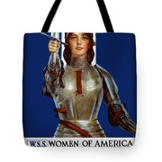 Joan Of Arc Saved France - Save Your Country Tote Bag