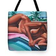 Poolside Dreaming Tote Bag