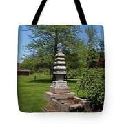 Joe And Marie Schedel Pagoda- Vertical Tote Bag