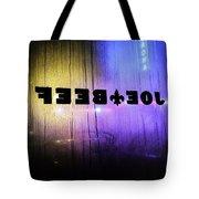 Joe Beef Tote Bag