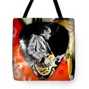 Joe Bonamassa Blues Guitar Art Tote Bag