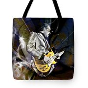 Joe Bonamassa Blues Guitarist Tote Bag