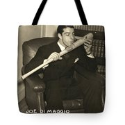 Joe Dimaggio (1914-1999) Tote Bag