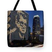 Joe Paterno City Scape Tote Bag
