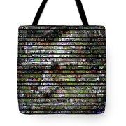 Joe Paterno Mosaic Tote Bag by Paul Van Scott