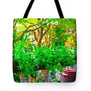Joe T Garcias Gardens Tote Bag
