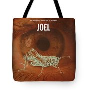 Joel Books Of The Bible Series Old Testament Minimal Poster Art Number 29 Tote Bag