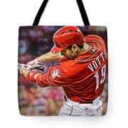 Joey Votto Baseball Tote Bag