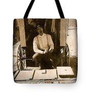 John A. Coffer  Traveling Tintype Photographer  Tombstone Arizona 1980-2009 Tote Bag