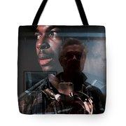 John Coltrane And Me Tote Bag