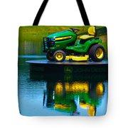 John Deere Mows The Water No 1 Tote Bag