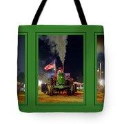 John Deere Tractor Pull Poster Tote Bag