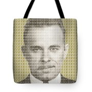 John Dillinger Mug Shot - Gold Tote Bag