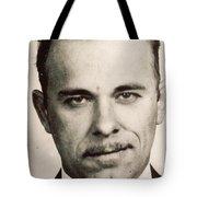 John Dillinger Mug Shot Sepia Tote Bag