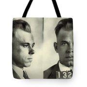 John Dillinger Mugshot Tote Bag
