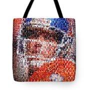 John Elway Mosaic Tote Bag