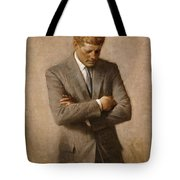 John F Kennedy Tote Bag