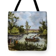 John Fitch Steamboat, 1796 Tote Bag