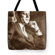 John Fitzgerald Kennedy Tote Bag