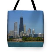 John Hancock Center Chicago Tote Bag