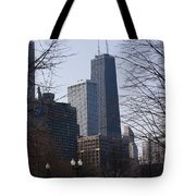 John Hancock Center II Tote Bag