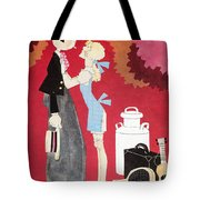 John Held, Jr. Cartoon Tote Bag