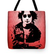John Lennon - Imagine - Pop Art Tote Bag