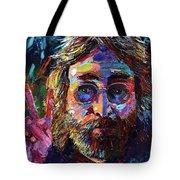 John Lennon Peace Tote Bag