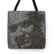 John Locke Dharma Button Mosaic Tote Bag