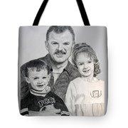 John Megan And Joey Tote Bag