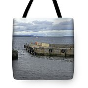 John O'groats Harbour Tote Bag