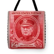 John Philip Sousa Postage Stamp Tote Bag