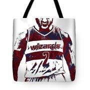 John Wall Washington Wizards Pixel Art 5 Tote Bag