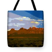 John Wayne Country Tote Bag