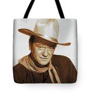 John Wayne, Hollywood Legend Tote Bag