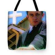 Johnny Cash 1961 Tote Bag