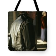 Johnny Cash About To Draw On Kirk Douglas Old Tucson Arizona 1971  Johnny Cash Is About To Draw Agai Tote Bag