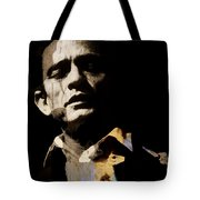 Johnny Cash - I Walk The Line  Tote Bag