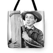 Johnny Crawford-mark Mccain Tote Bag