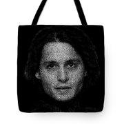Johnny Depp Typography Tote Bag