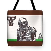 Johnny Manziel 11  Tote Bag by Jeremiah Colley
