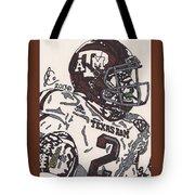 Johnny Manziel 5 Tote Bag