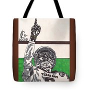 Johnny Manziel 7 Tote Bag