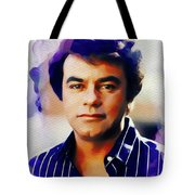 Johnny Mathis, Music Legend Tote Bag