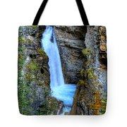Johnston Canyon Falls Hike Upper Falls Tote Bag