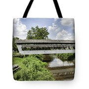 Johnston Covered Bridge Tote Bag