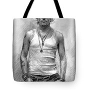 Johny Depp Tote Bag