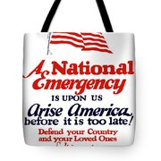 Arise America Before It Is Too Late - Join The Navy Tote Bag